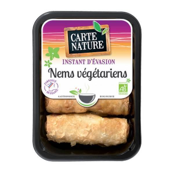 Carte Nature - Nems végétariens x 4 - 280 g