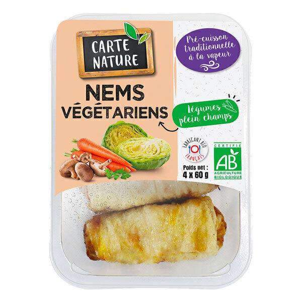 Carte Nature - Nems végétariens x4 280g