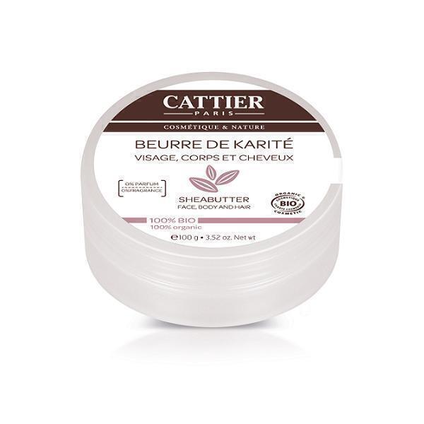 Cattier - Lot de 3 x Beurre de Karité 100g