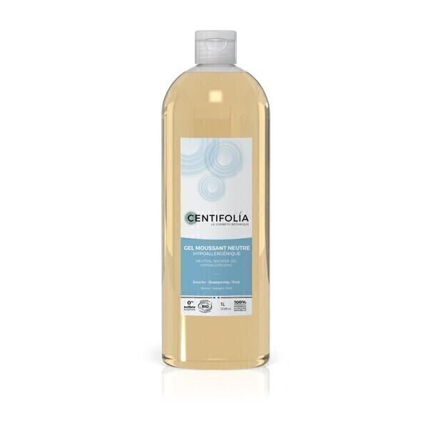 Centifolia - Lot de 3 x Gels moussants douche neutres bio 1L
