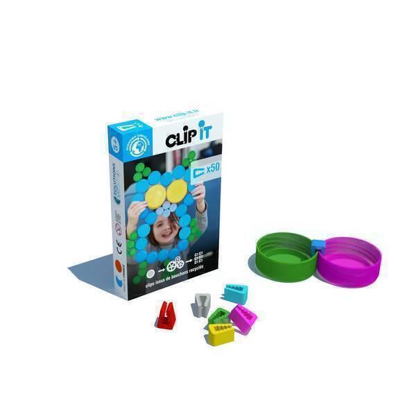 Clip it - Boîte de 50 clips - Hibou 2D
