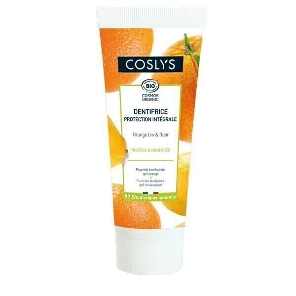 Coslys - Dentifrice au fluor et orange 75ml