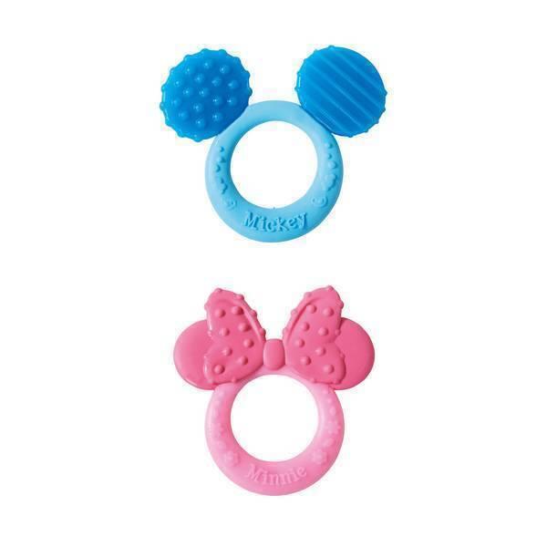 Disney Baby - Anneau de dentition Mickey ou Minnie 6 mois +