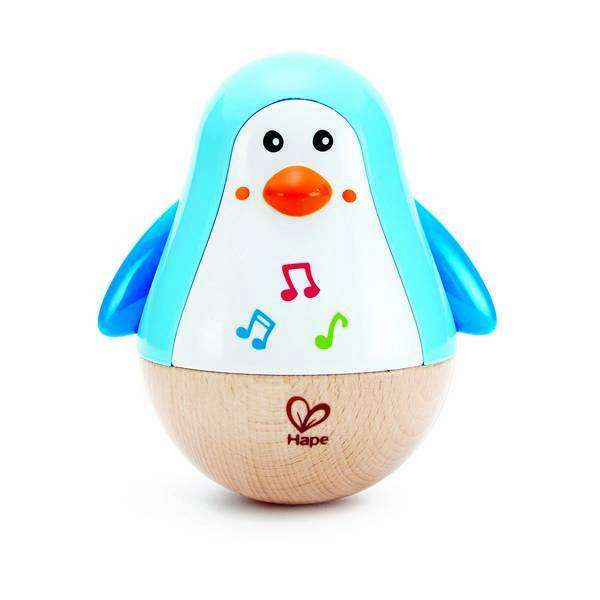 Hape - Pingouin Culbuto musical - Dès 6 mois