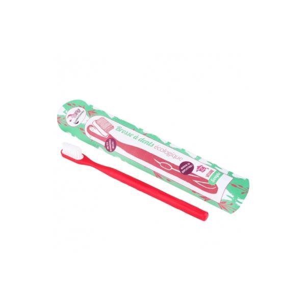 Lamazuna - Brosse à dents rechargeable Souple Rouge