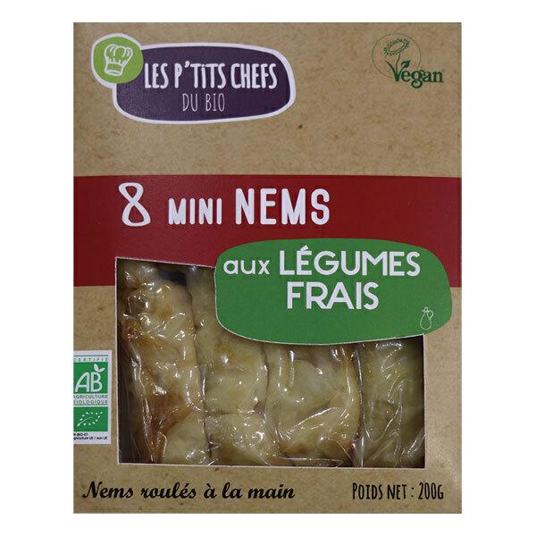 Les P'tits Chefs du Bio - Mini nem aux légumes 8x25g