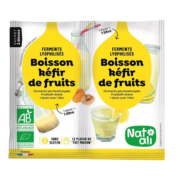 Natali - Préparation pour kéfir de fruits 2x5g