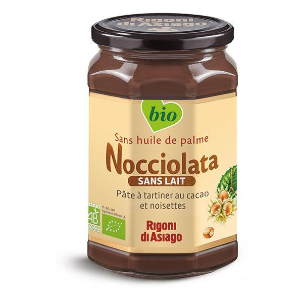 Nocciolata - Lot de 3 Pâtes à tartiner Nocciolata sans lait 700g