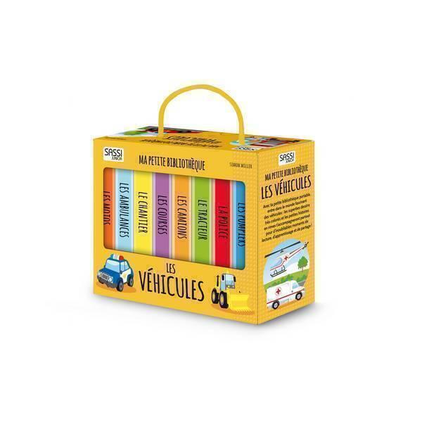 SASSI Junior - Ma petite bibliothèque: Les véhicules - Dès 2 ans