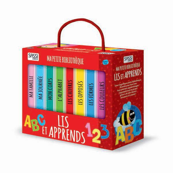 SASSI Junior - Ma petite bibliothèque: Lis et apprends - Dès 2 ans