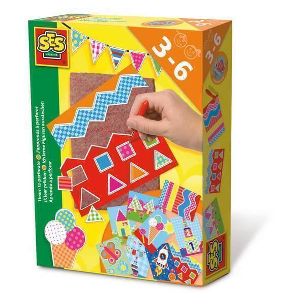 SES Creative - J'apprends à poinçonner - Dès 3 ans