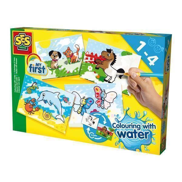 SES Creative - My First - Coloriage à l'eau - Dès 12 mois