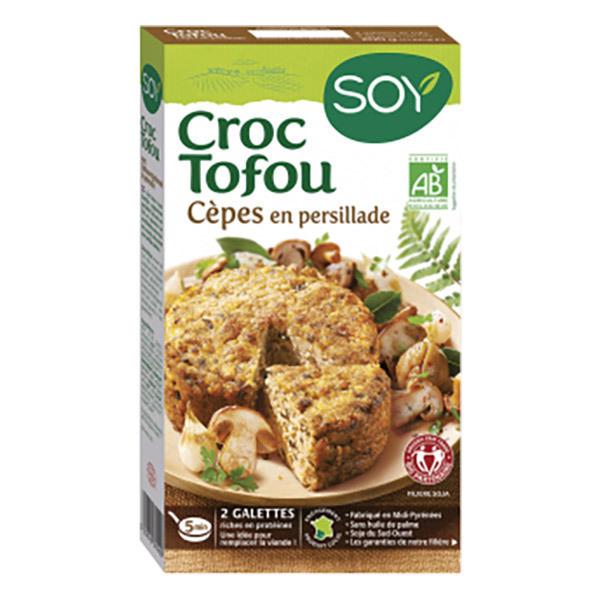 Soy (frais) - Croque tofou aux cèpes 200g
