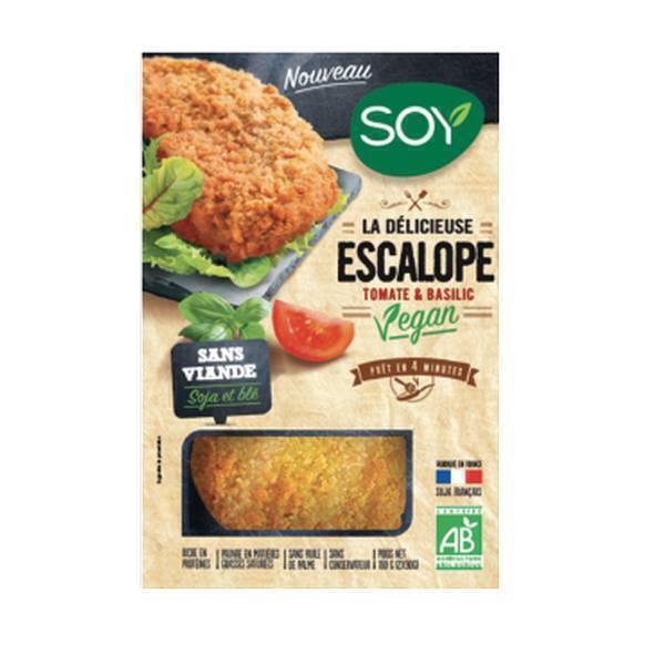 Soy (frais) - Escalope tomate basilic 176g