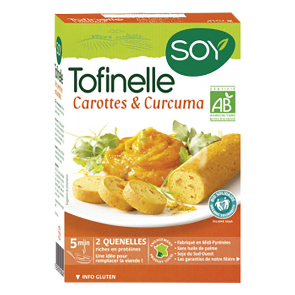 Soy (frais) - Tofinelle carotte curcuma 200g