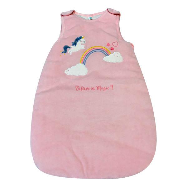 Tex Baby - Gigoteuse naissance Licorne rose - De 0 à 6 mois