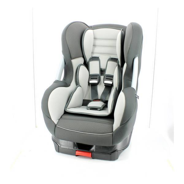 si ge auto isofix cos groupe 1 gris fonc tex baby. Black Bedroom Furniture Sets. Home Design Ideas