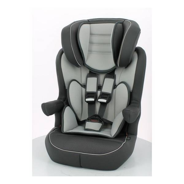 si ge auto isofix gr 1 2 3 gris fonc tex baby la r f rence bien tre bio b b. Black Bedroom Furniture Sets. Home Design Ideas