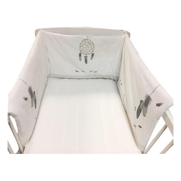 tour de lit bébé tex Tour De Lit Plume blanc Tex Baby   Natiloo.  La référence Bien  tour de lit bébé tex