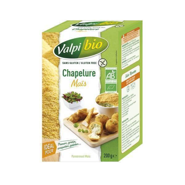 Valpibio - Chapelure maïs bio 200g