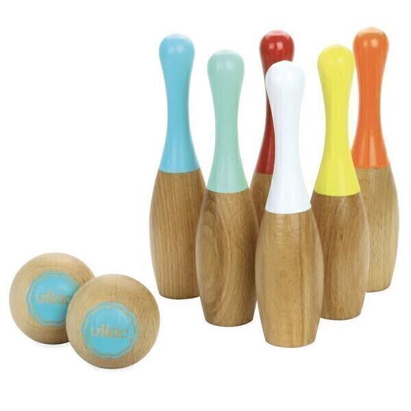 Vilac - Jeu de quilles bowling bicolores - Dès 5 ans