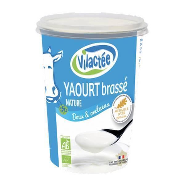 Yaourt brass nature 400 g vilact e acheter sur for Froid statique ou brasse