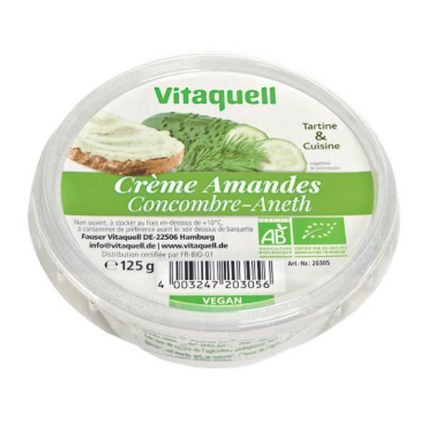 Vitaquell Frais - Préparation Amandes Concombre Aneth - 125 g