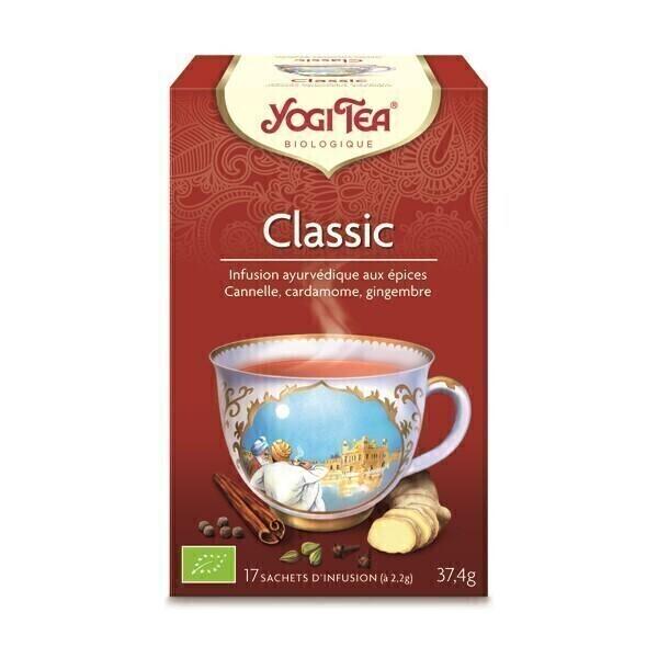Yogi Tea - Offre Infusion Classic Cannelle x 17 Sachets