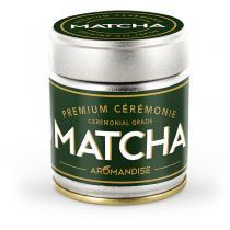 Aromandise - Matcha de Cérémonie Premium en poudre - 30 g