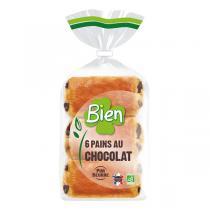 Bien Pâtisserie - 6 Pains au chocolat 270g