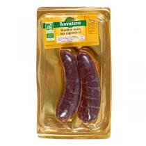 Bonneterre - Boudins noirs aux oignons x 2 - 200 g