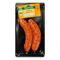 Bonneterre - Saucisses fumées x 2 - 200 g