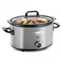 Crock-Pot - Mijoteuse électrique Crock-Pot® en Inox Brossé 3,5L