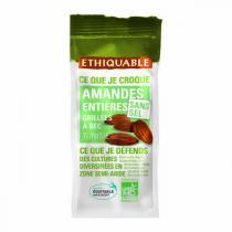 Ethiquable - Amandes entières grillées sans sel Tunisie bio - 100 g