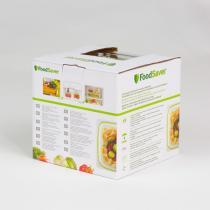 FoodSaver - Lot de 2 boîtes alimentaires Fraîcheur 70cl et 1,2L