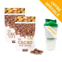 Purasana - Lot de 2 Feves De Cacao 200g