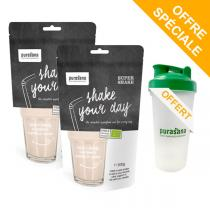 Purasana - Lot de 2 Supershake Bio Shake your day 200g