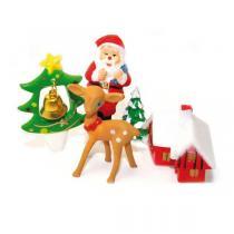 ScrapCooking - Lot de 4 décors à bûche de Noël