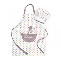 ScrapCooking - Set tablier + toque enfant