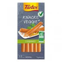 Tartex - Knacks veggie légumes x 5 - 200 g