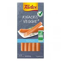 Tartex - Knacks veggie nature x5 200g
