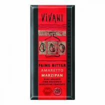 Vivani - Chocolat noir fourré au Massepain et Amaretto - 100 g