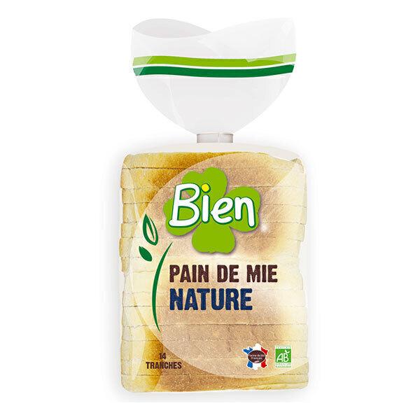 Bien Pâtisserie - Pain de mie nature tranché 500g