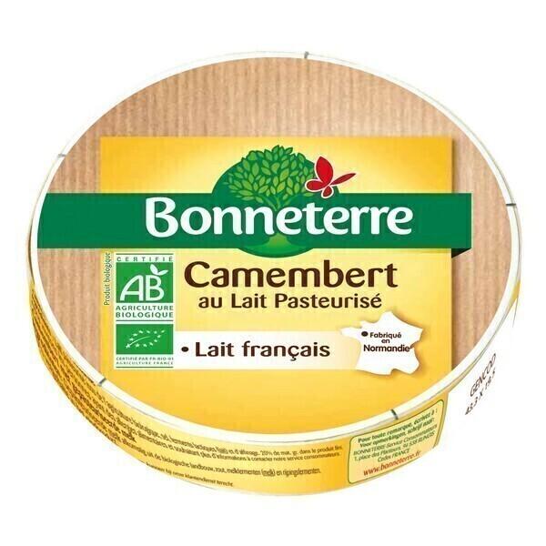 Bonneterre - Camembert lait pasteurisé - 250 g
