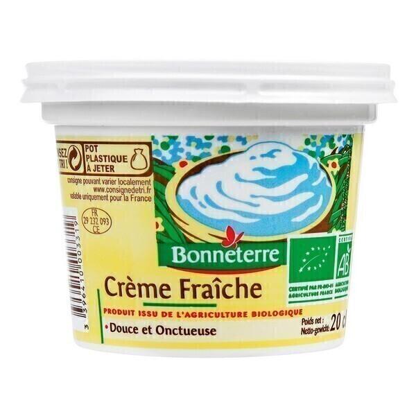 Bonneterre - Crème fraîche - 20 cl