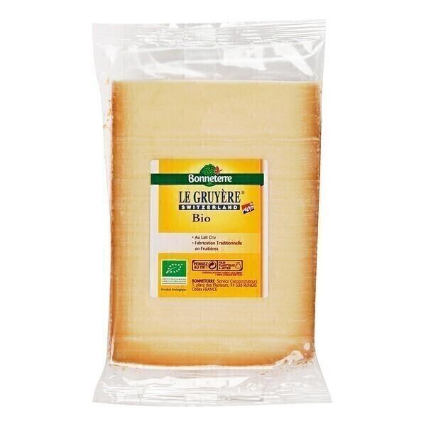 Bonneterre - Gruyère suisse AOP au lait cru 200g