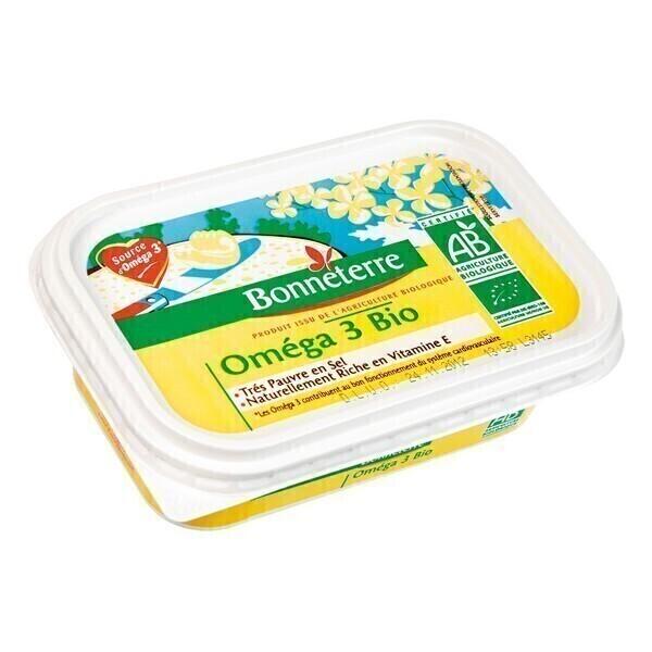 Bonneterre - Margarine oméga 3 bio - 250 g
