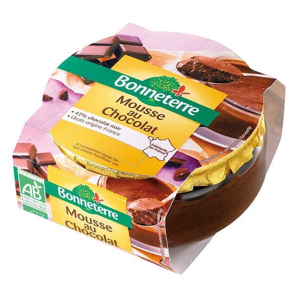 Bonneterre - Mousse au chocolat - 90 g
