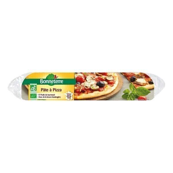 Bonneterre - Pâte à pizza sans huile de palme prête à dérouler 260g