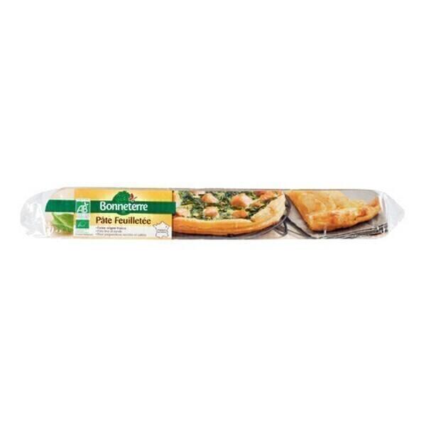 Bonneterre - Pâte à tarte feuilletée prête à dérouler 250g